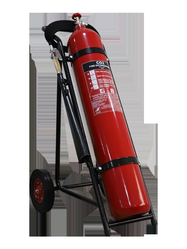 EN1866-1 30kg Mobile CO2 Fire(alloy-steel)