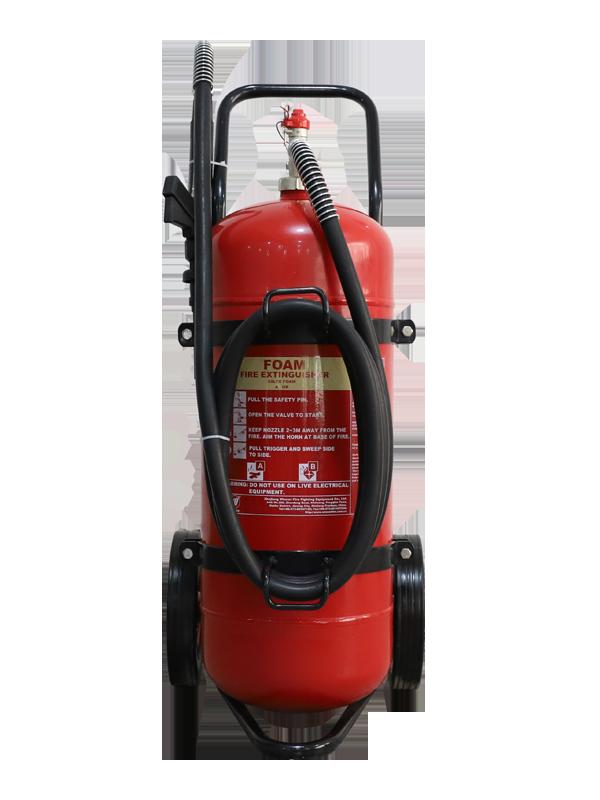 EN1866-1  50L Mobile Foam Fire Extinguisher