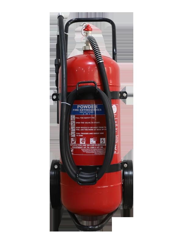 EN1866-1 50kg Mobile Dry Powder Fire Extinguisher