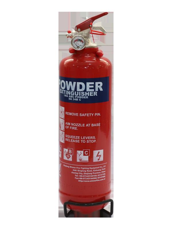 EN3-7  1kg Portable Dry Powder Fire Extinguisher