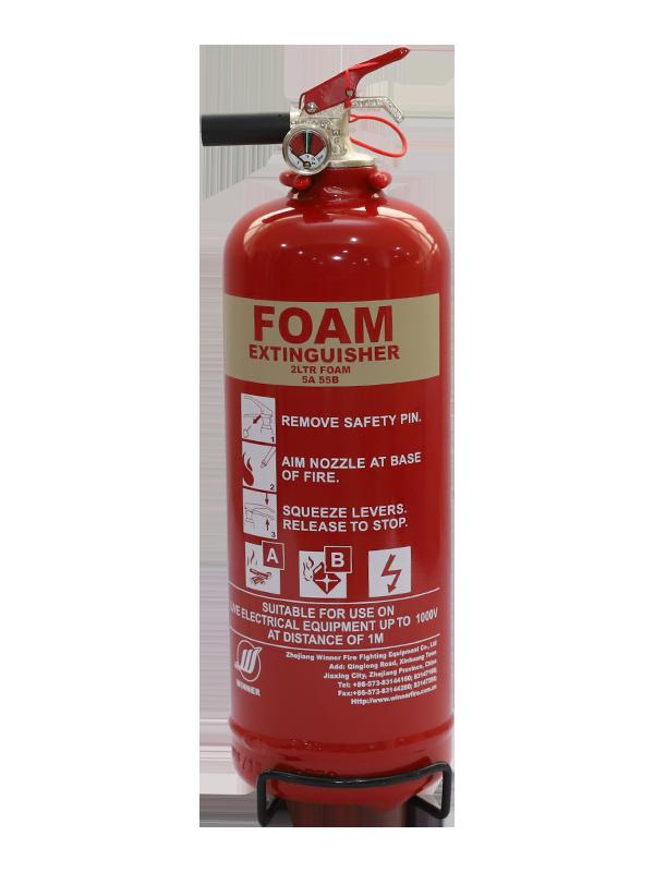 EN3-7  2L  Portable Foam Fire Extinguisher