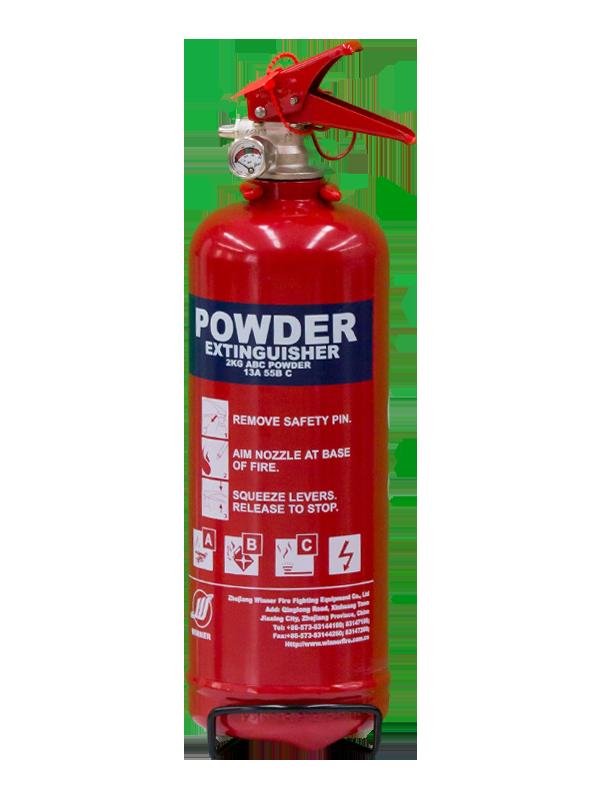 EN3-7  2kg Portable Dry Powder Fire Extinguisher(ABC85%)