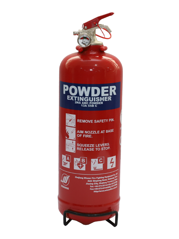 EN3-7  2kg Portable Dry Powder Fire Extinguisher