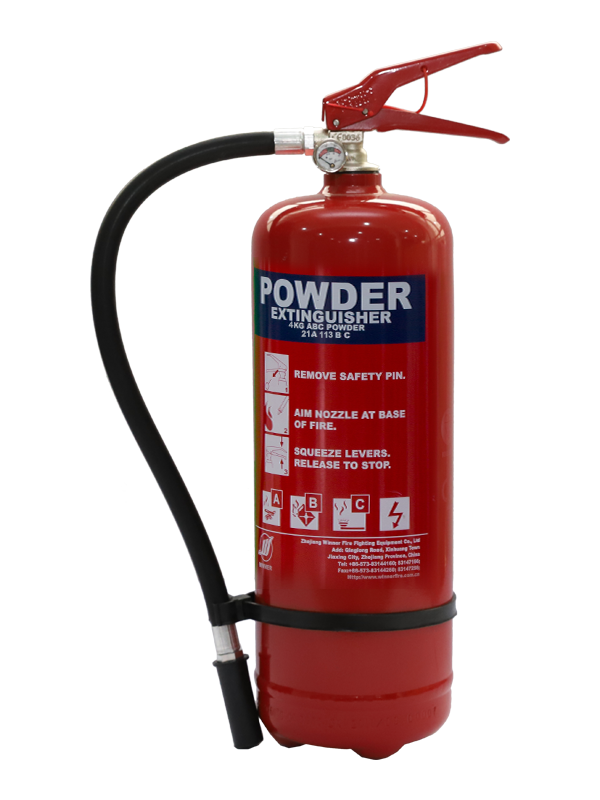 EN3-7  4kg Portable Dry Powder Fire Extinguisher