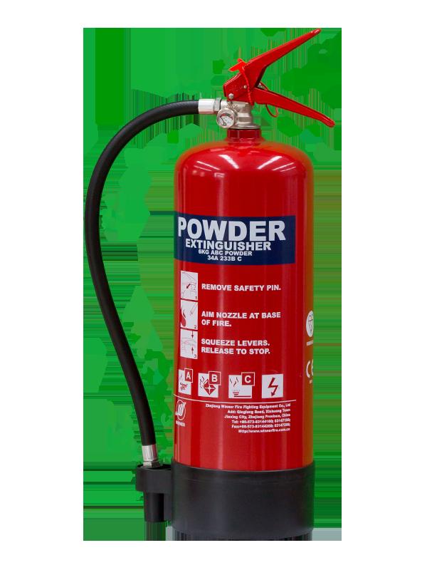 EN3-7  6kg Portable Dry Powder Fire Extinguisher(ABC85%)