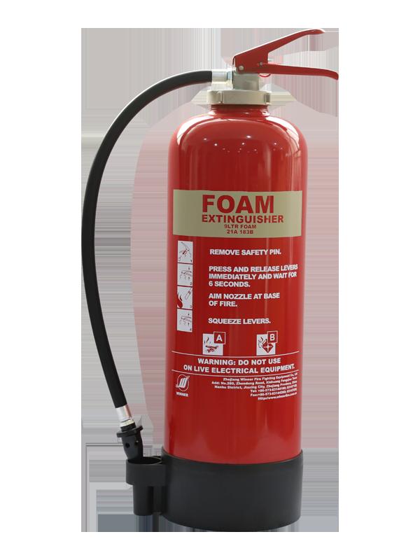 EN3-7 9L Portable Foam Fire Extinguisher(With Internal Cartridge)