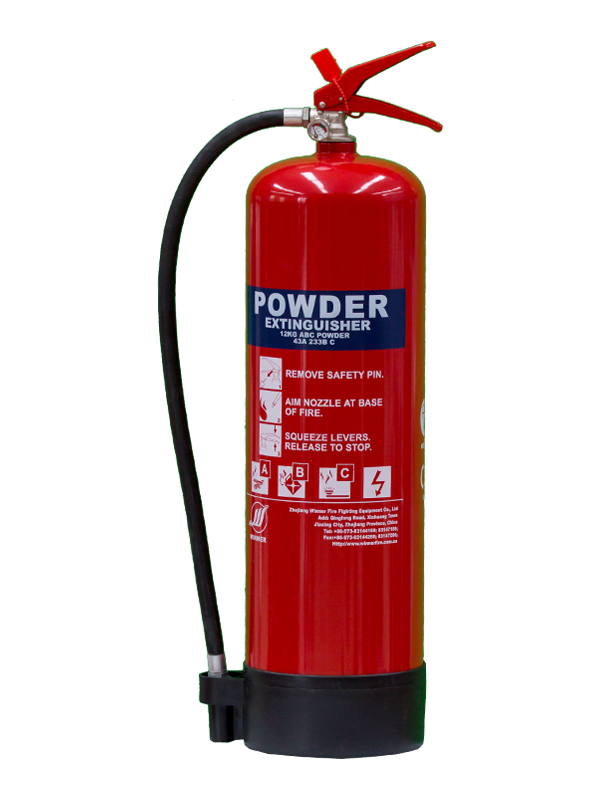 MED Approval 12kg Portable Dry Powder Fire Extinguisher(ABC40%)