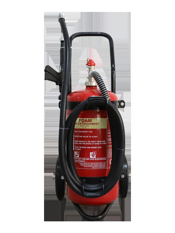 MED Approval  25L Mobile Foam Fire Extinguisher
