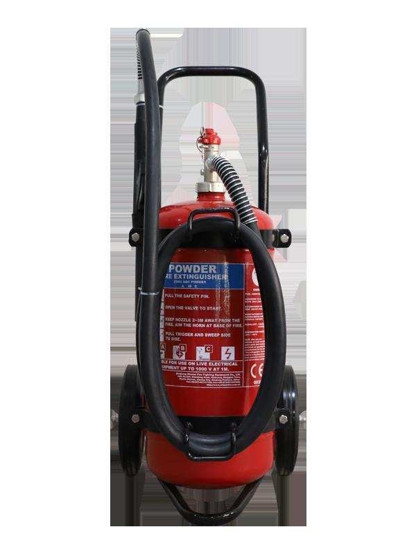 MED Approval  25kg Mobile Dry Powder Fire Extinguisher
