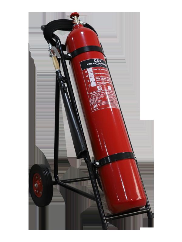 MED Approval 30kg Mobile CO2 Fire(alloy-steel)