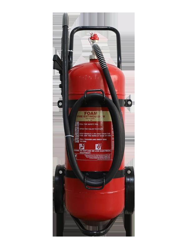 MED Approval  50L Mobile Foam Fire Extinguisher