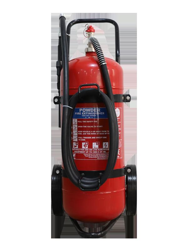 MED Approval  50kg Mobile Dry Powder Fire Extinguisher