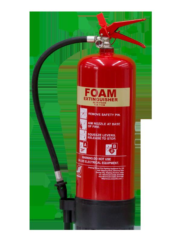 MED Approval 6L Portable Foam Fire Extinguisher(AFFF3%)