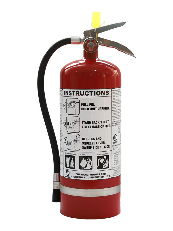 UL299  10Lb Portable Dry Chemical Fire Extinguisher