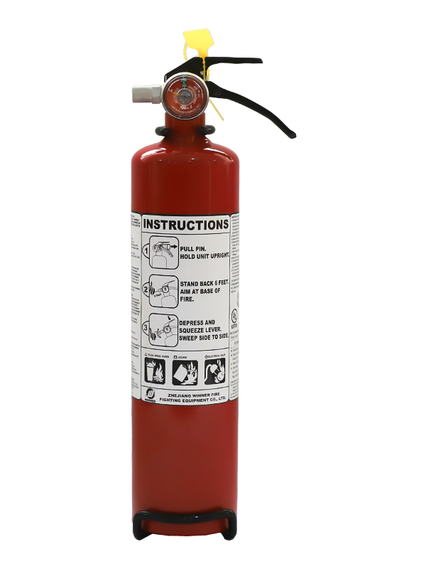 UL299  2.5Lb Portable Dry Chemical Fire Extinguisher
