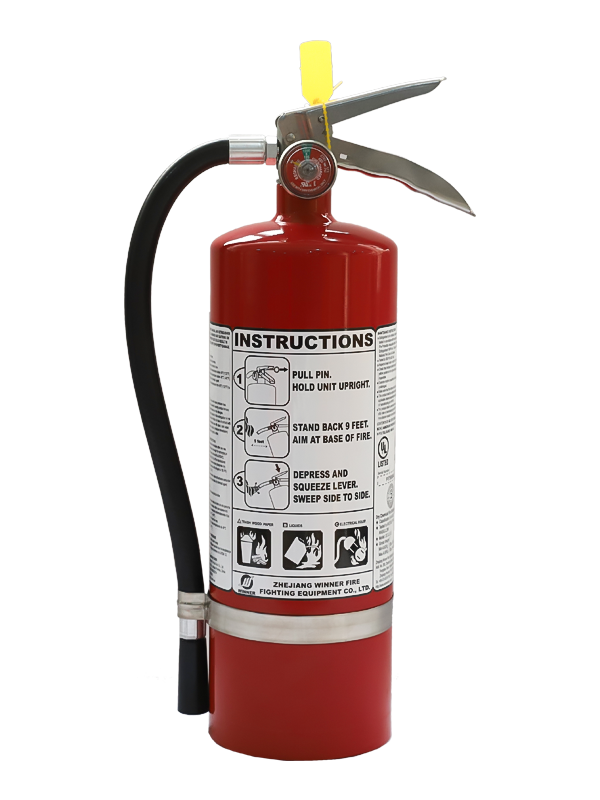 UL299 5.5Lb Portable Dry Chemical Fire Extinguisher