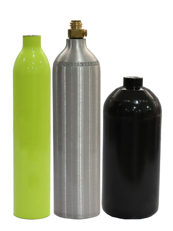 Seamless Aluminum Alloy Gas Cylinders