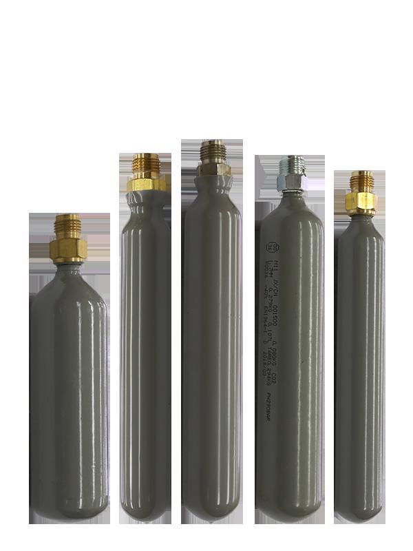 GB/T 5099 Seamless Steel Gas Cartridge